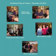 December 19, 2013 - Christmas Party at Tracey's (4)